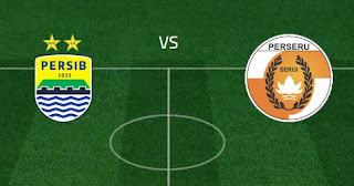 Persib Bandung vs Perseru Serui