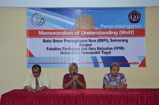 BBPI Kerjasama Dengan UPS Tegal dan UNU, Cirebon