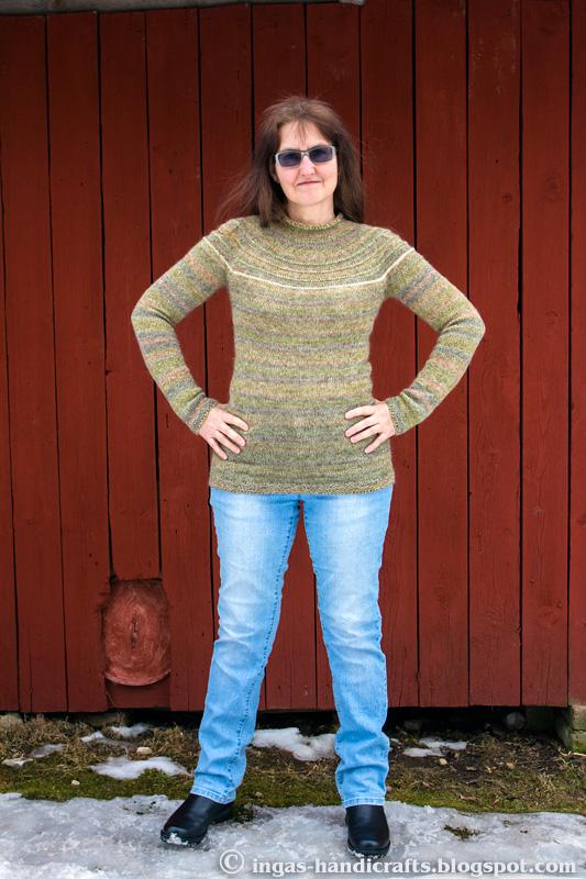Ümara passega sviiter / Round Yoke Sweater