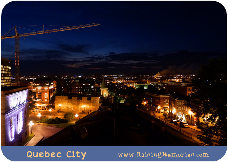 Quebec City at Night Photography
