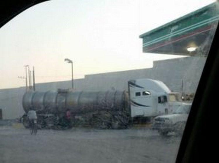 Cartel del Golfo obliga a  gasolineras a comercializar combustible robado
