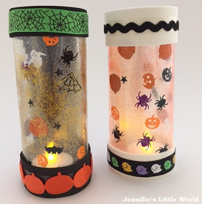 Halloween lanterns craft for children