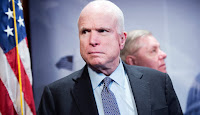 Sen. John McCain (R-Ariz.) says Republicans and Democrats need to work together to get to the bottom of Russia interference in the U.S. election. (Credit: Tom Williams/Getty Images) Click to Enlarge.