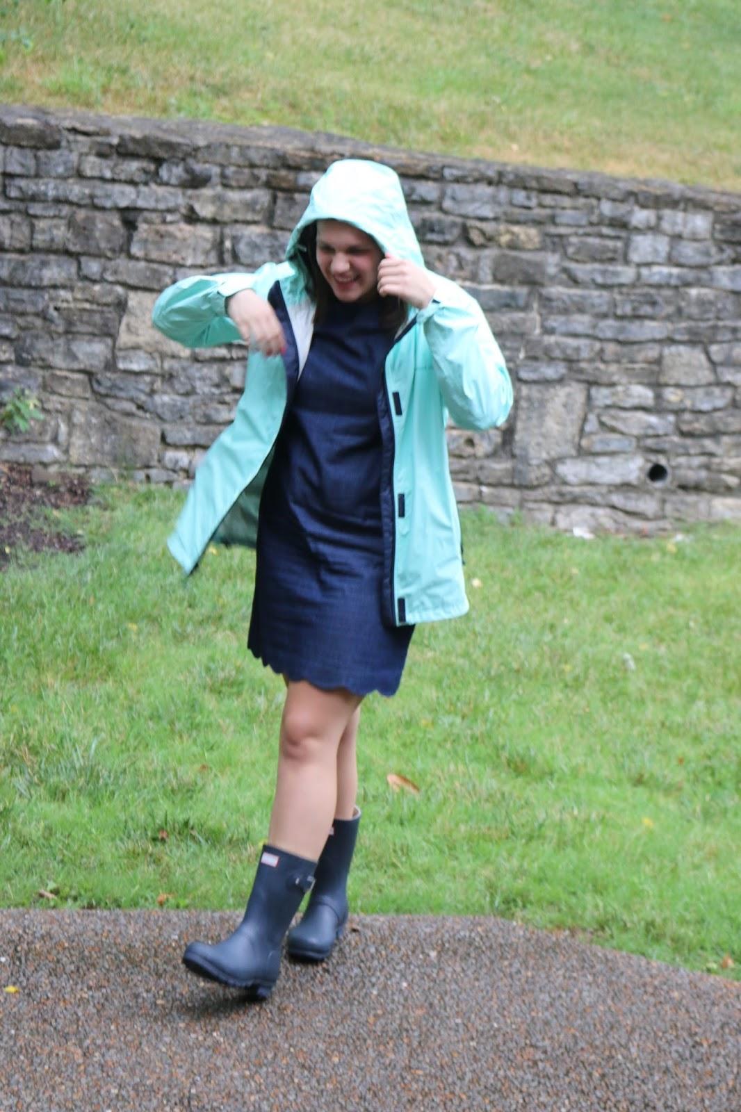 Warm summer rain dress