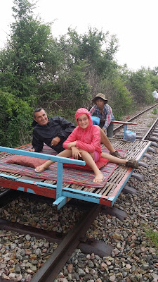 Tren de Bambú en Battambang