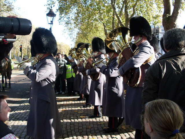 Londres troca da guarda
