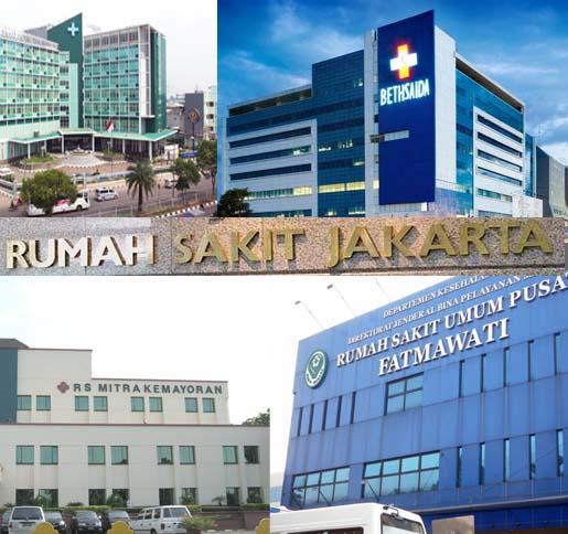 Alamat Rumah Sakit Seluruh Kota Jakarta - Maftuhi Net