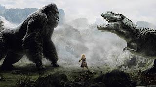 Filmbild aus King Kong, 2005, mit Naomi Watts