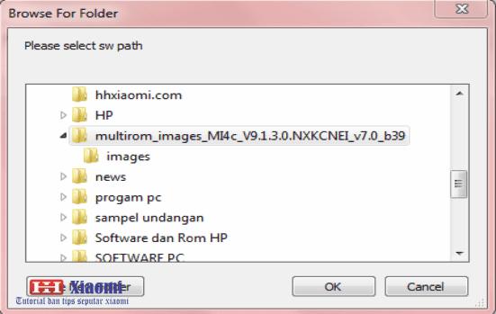 Cara Flashing xiaomi MI 4C Ke MultiROM MIUI 9 bahasa indo