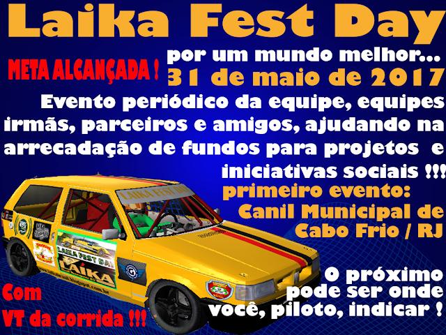 Laika Fest Day se aproxima e adm presta esclarecimentos!