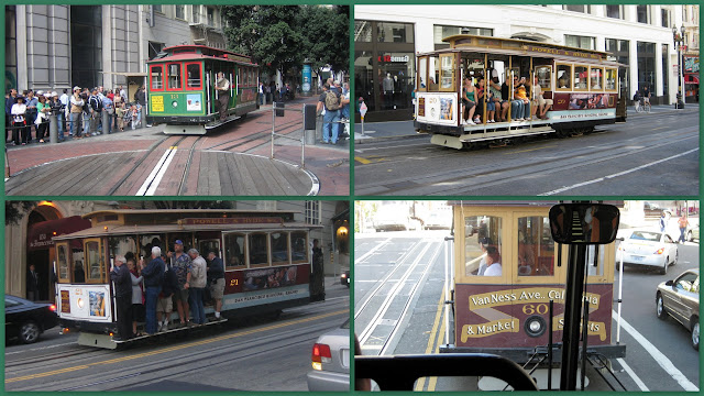 San Francisco - Tranvías de cable - Cable Cars