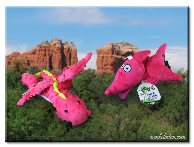 GoDog Flying Magenta Dragon and Terry the Pterodactyl
