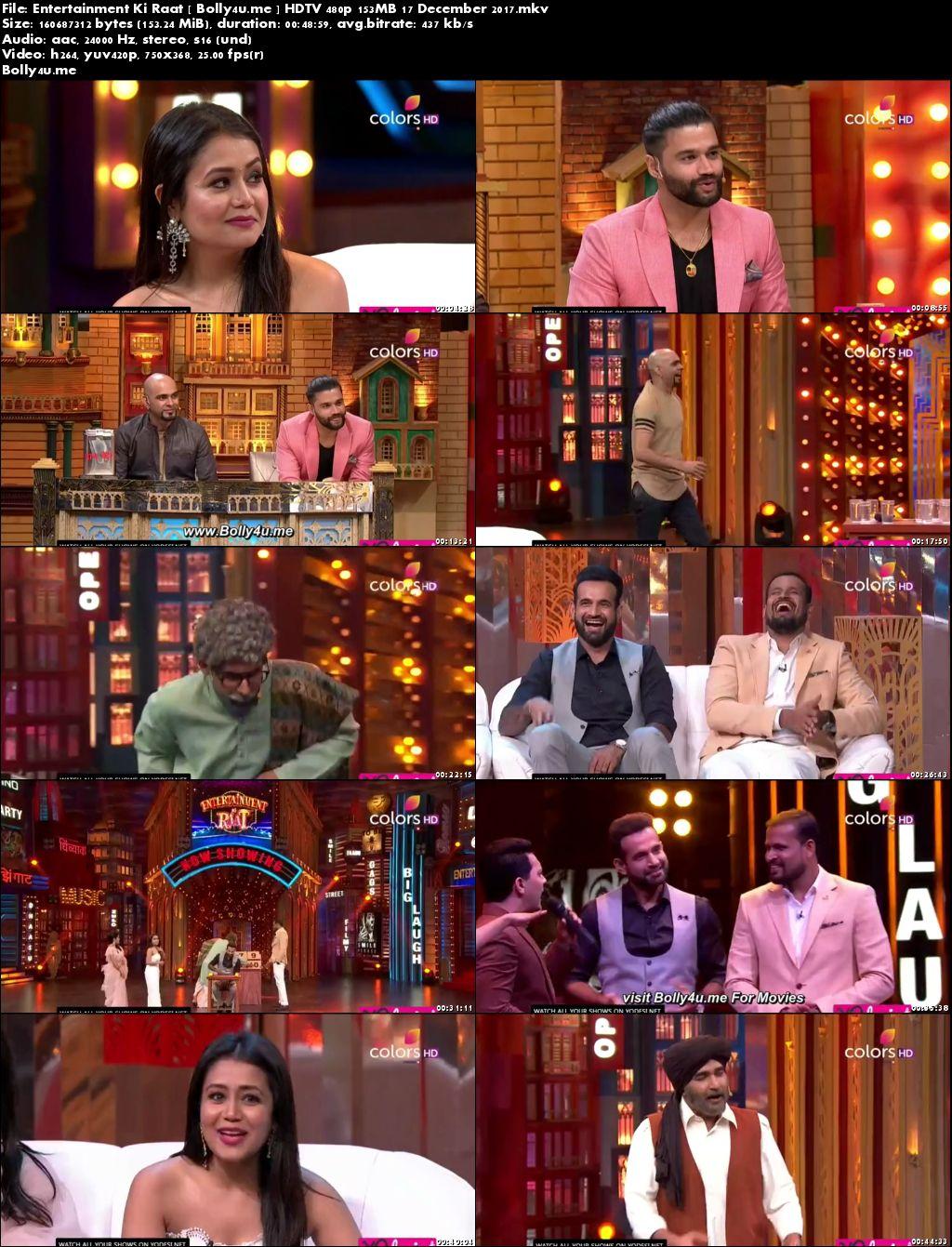 Entertainment Ki Raat HDTV 480p 150MB 17 Dec 2017 Download