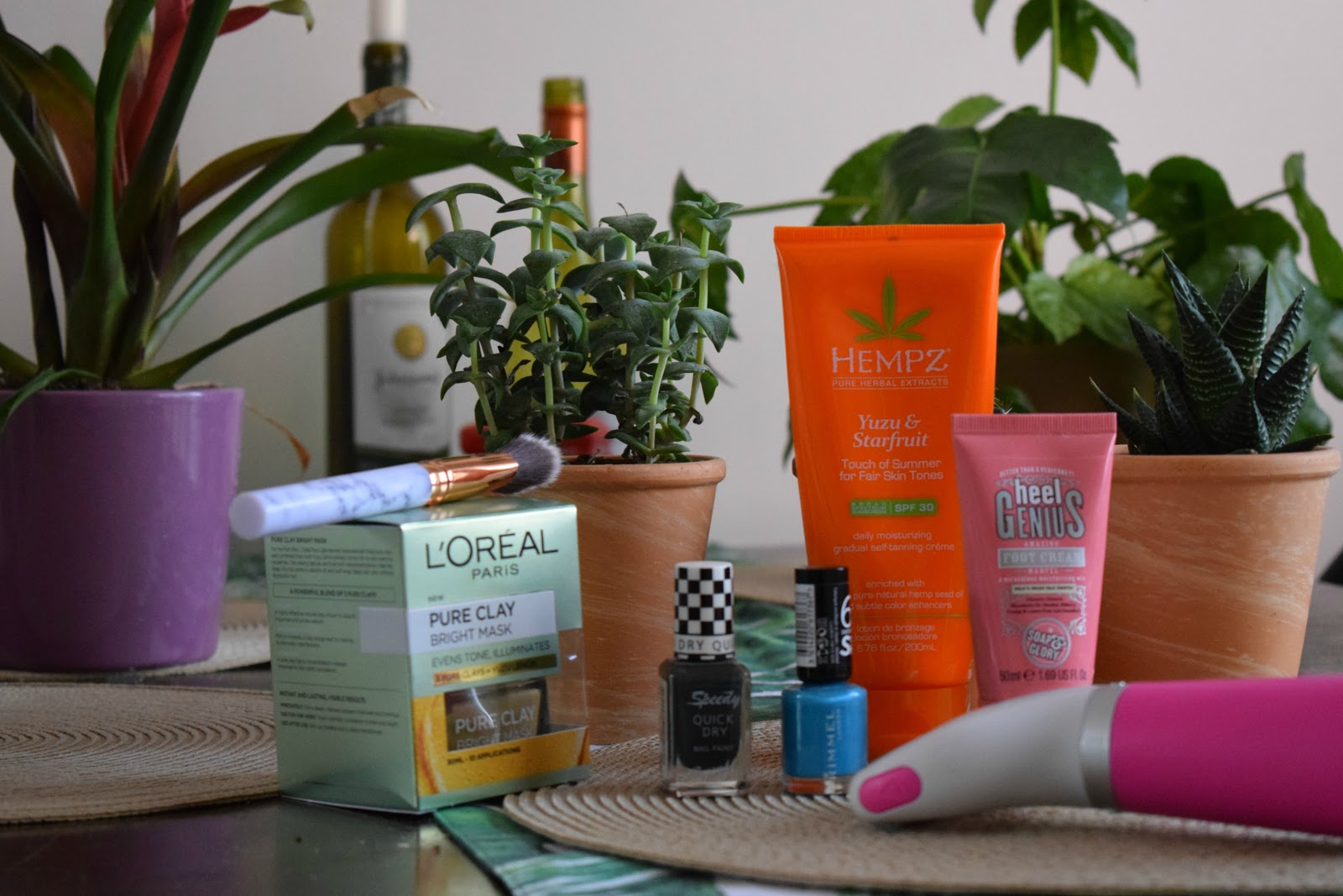 Summer pamper routine