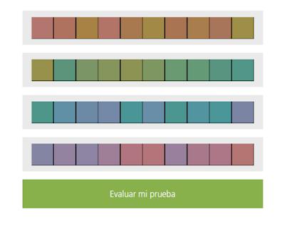 Desafío del color de X-Rite