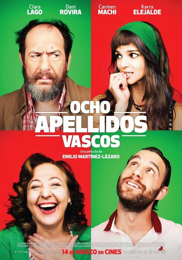 """Ocho apellidos vascos"" (Emilio Martínez-Lázaro, 2014)"