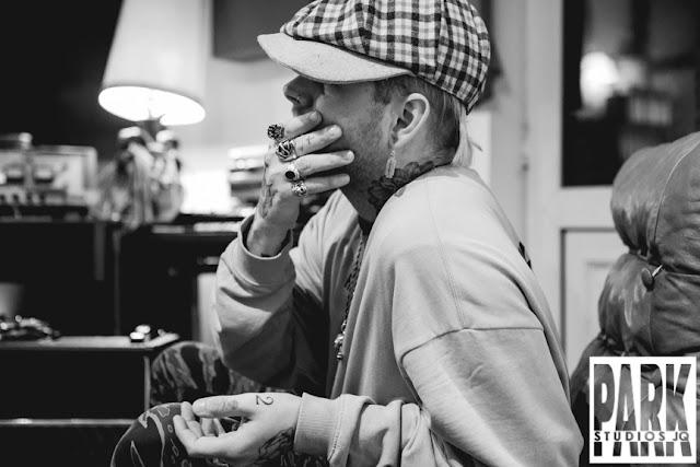 The Carnival Club EP | Birmingham Recording Studio | Park Studios JQ | tattoed hands