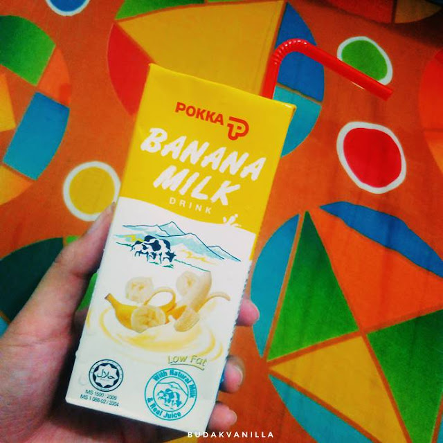 pokka banana milk