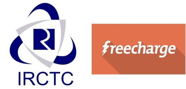 FreeCharge Ties-Up IRCTC For Railway Ticket Bookings