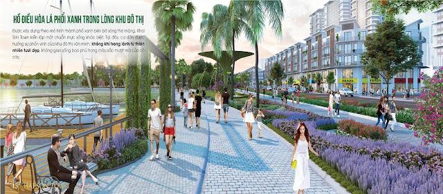 Khai Sơn City có không gian sống trong lành