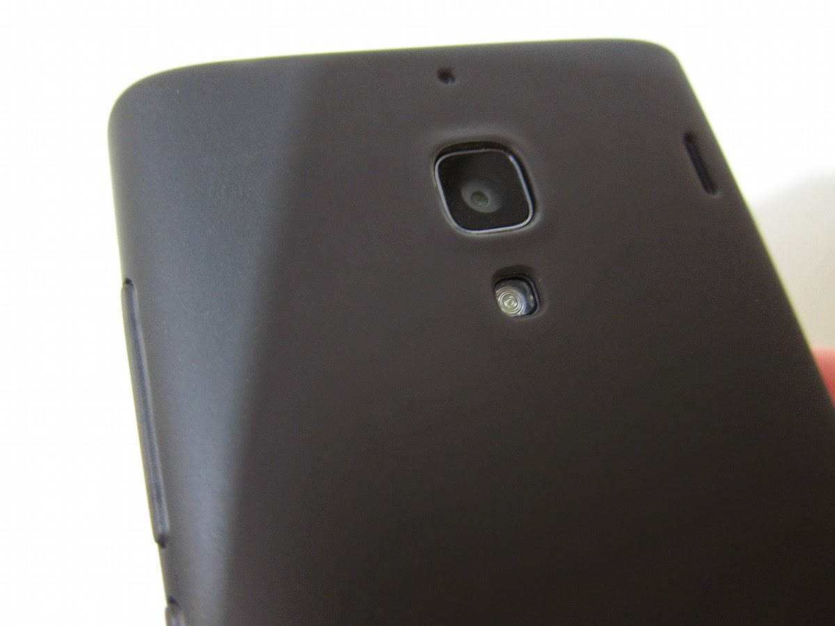 Gadgets And Stuff Redmi 1s Soft Silicone Case Xiaomi Grey On A Metal Back Cover