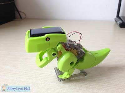 Solar Toy Robot 4 In 1