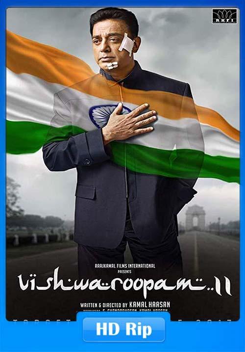 Vishwaroopam 2 2018 Malayalam 720p HDRip   480p 300MB   100MB HEVC