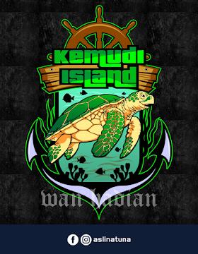 Desain Logo Pulau Kemudi