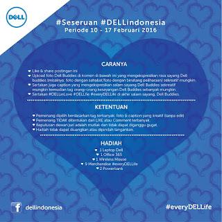 Info Kontes - Kontes Foto Seseruan #DellIndonesia Berhadiah Laptop Dell dan Hadiah Keren Lainnya
