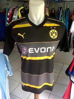 Jual Jersey Borrusia Dortmund Away 2016/2017 di toko jersey jogja suamcomp, murah berkualitas