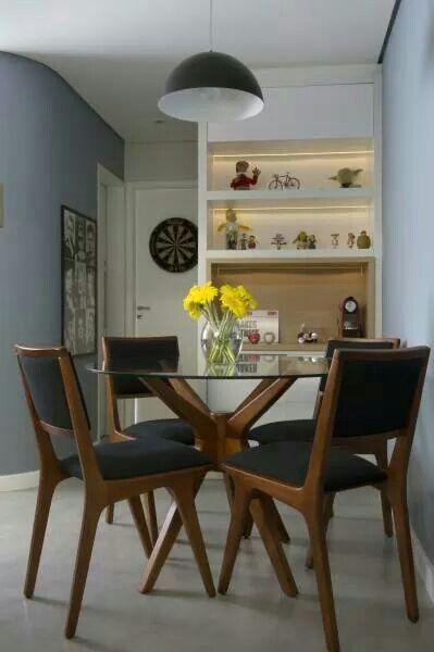 Sala De Jantar Redonda ~  redondas para inspirar você!  Jeito de Casa  Blog de Decoração