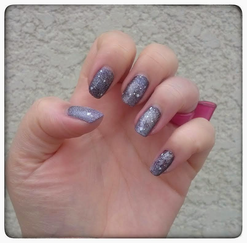Nailart Galaxie Girly