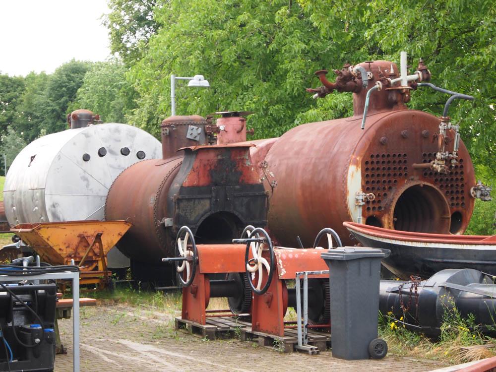 Tagebuch eines Herumtreibers: Dampfkessel und Binnenschiffe
