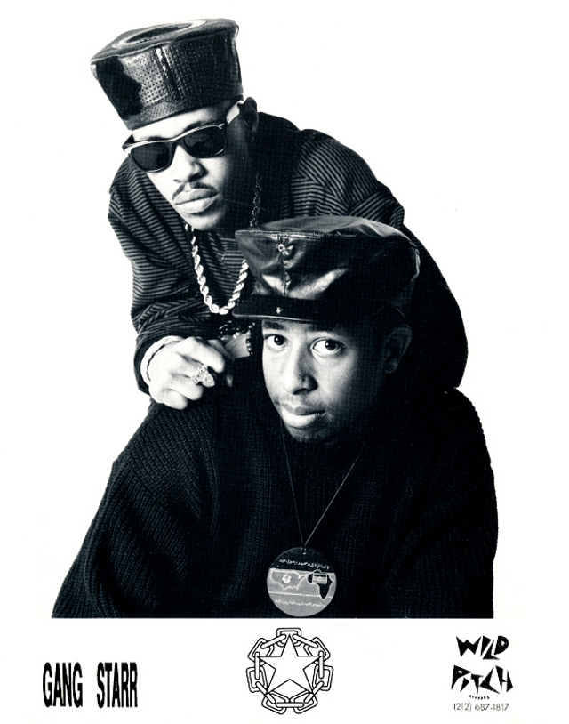 Gang Starr DJ Premier Guru Wild Pitch Publicity Photo