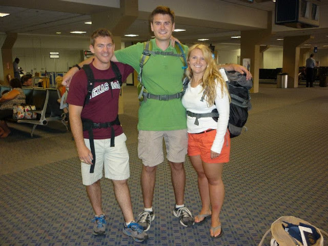 flying internationally with friends