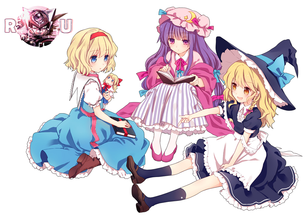 PNG-Chicas Touhou
