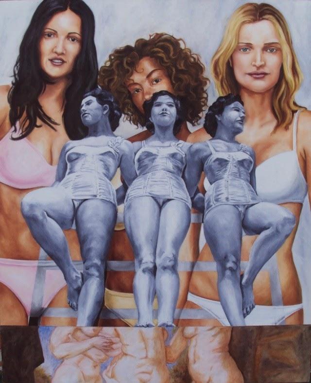 Мексиканский художник. Carlos Ruiz