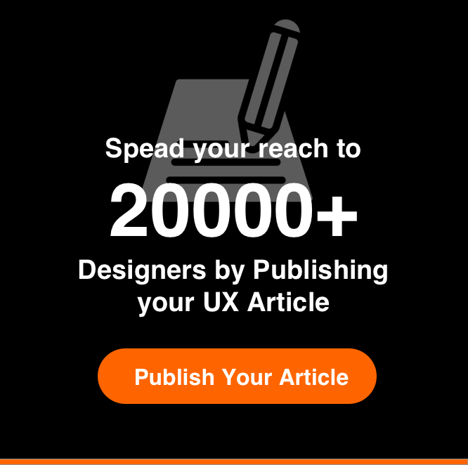 Publish UX Article