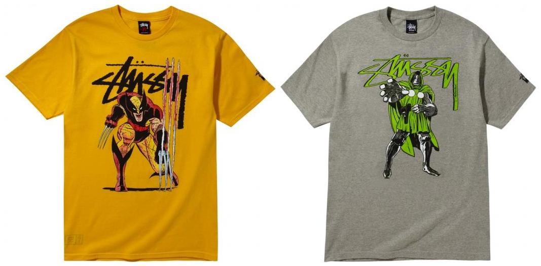 """XLarge Stussy Yo MTV Rap """"De La Soul"""" Collab T Shirt"""
