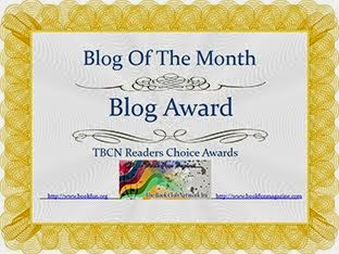 Blog of the Month Award! Yeah!