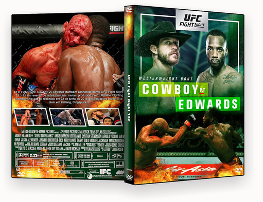 UFC Fight Night Cowboy vs. Edwards 2018 – ISO – CAPA DVD