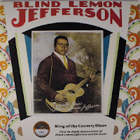 Blind Lemon Jefferson, singer of one of 'A Dirty Dozen: Top 12 Death Penalty Songs'