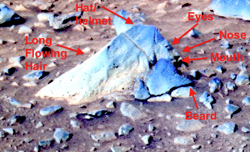 UFO SIGHTINGS DAILY: New Alien Face Discovered On Mars ...