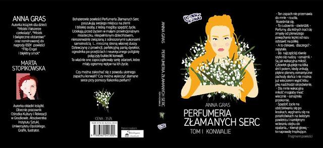 """""""Perfumeria złamanych serc"""" pod patronatem medialnym Subiektywnie o książkach"""