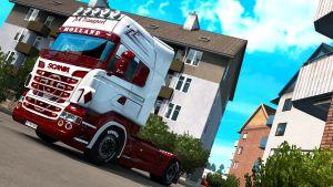 JVK Transport Holland skin for Scania RJL