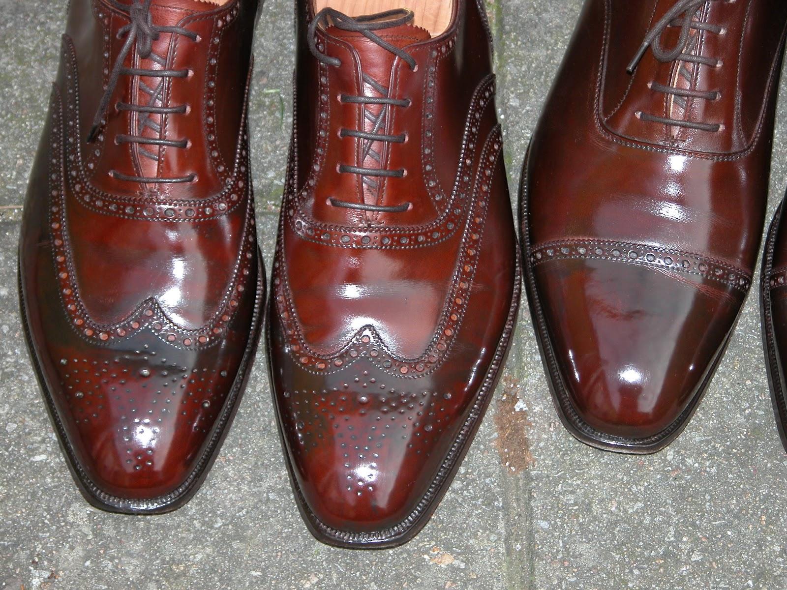 Black Shoe Polish Patina