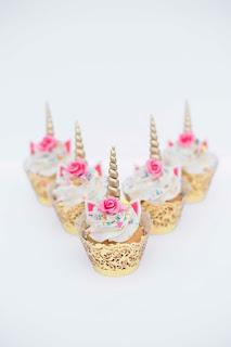Cupcakes de Unicornios