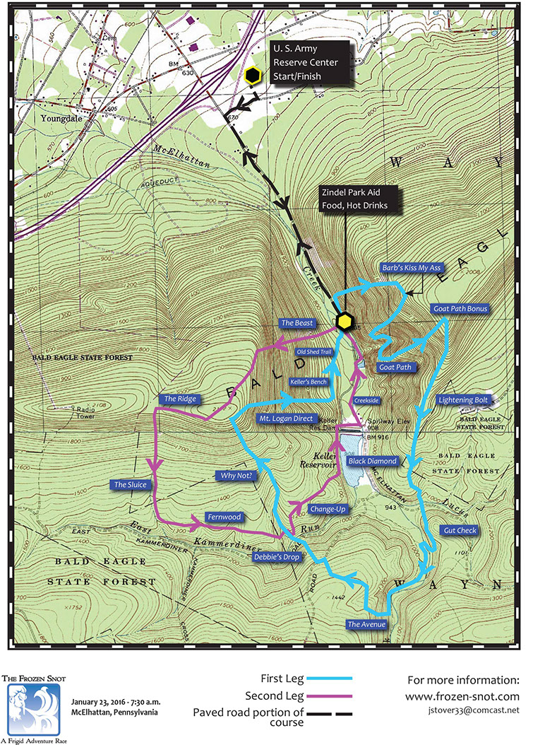 Perry's Trails: January 2016 on