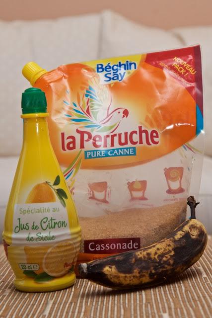 Banane Écrasée au Sucre de Canne - Banana - Fruit - Exotique - Dessert - Breakfast - Petit-déjeuner - Banane - Vegetarian - Exotic