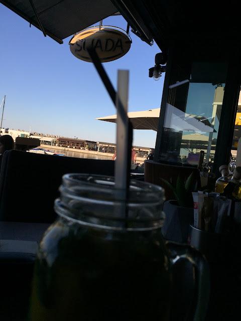 poza din restaurantul Suada aflat in portul Constanta